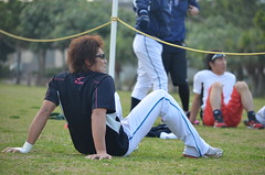 DSC_0161 (mechiko) Tags: 横浜ベイスターズ 120209 嶋村一輝 横浜denaベイスターズ 2012春季キャンプ