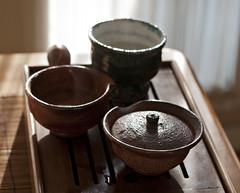 Afternoon tea (debunix) Tags: hagi oribe yamaneseigan yuzamashi shiboridashi petrnovakwoodfiredshino