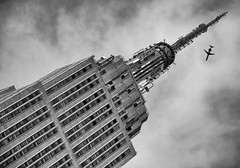 ZEPPELIN / BLIMP MOUNT   Empire State Building New York City