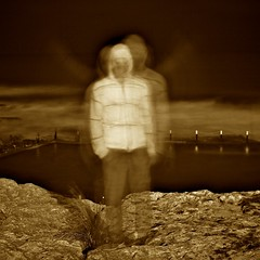 30 second self-portrait (saltytheseal) Tags: ocean longexposure nightphotography sea man motion guy water pool monochrome sepia night canon dark square eos moving movement soft exposure slow darkness background ghost sydney australia pacificocean human nsw late doo maroubra foreground bloke whitewash shutterspeed ghosting yabba dabba unclear yabbadabbadoo maroubrabeach 60d maroubrapool