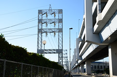 Gate-shaped Power Line Towers in Ukishima (ykanazawa1999) Tags: tower japan powerline kanagawa kawasaki ukishima