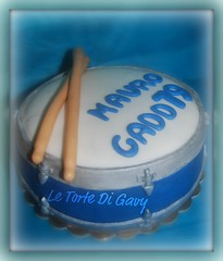 Torta tamburo (Le Torte Di Gavy) Tags: food art cake dessert drum sugar batteria dolci torte fondant zucchero cakedecorating tamburo cakedesign