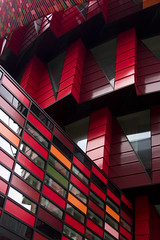 104/366 (DavidAndersson) Tags: school red architecture gteborg colours gothenburg cog day104 chalmers lindholmen 366 sigma1850f3556 kuggen 2012yip 3662012
