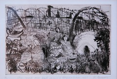 Margaret Gregory, Greenham (Dru Marland) Tags: cruise camp bristol women artist peace nuclear exhibition margaret gregory common anti 1985 rwa greenham