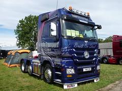 Intake transport (seanofselby) Tags: castle transport barnard intake merc truckfest 2011 actros