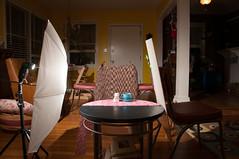 Day - 68 Setup Front (Creative_Light_Photography) Tags: life camera coffee cat project still nikon shot huntsville flash alabama cream off setup creamer 2012 sb800 366 d90 sb26 strobist