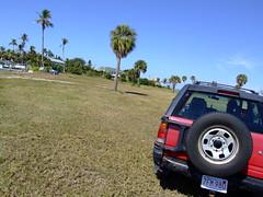 Pine Island, FL (Takotem) Tags: trip travel red usa drive driving united 4wd annie rodeo states traveling amphetamine isuzu