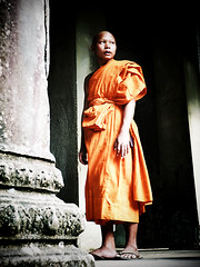 Angkor Wat Buddhist Monk