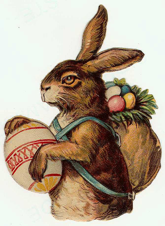 Vintage Easter Rabbit 57