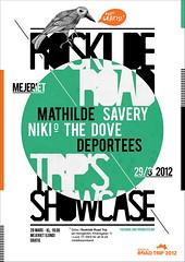 Roskilde Road Trip Poster (Michaela Nico) Tags: music bird illustration poster graphicdesign concert memphis roskilde bebas destijl mejeriet deportees