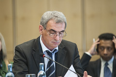 Andrija Lompar at the Ministers' roundtable.