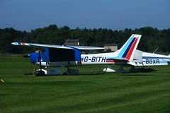 G-BITH ~ 2009-09-12 @ Eggington (CVT-wings) Tags: airplane aviation airplanepictures generalaviation airplanephotos cessna152 aircraftpictures 12092009 aircraftpix cvtwings davelenton gbith derbyeggingtonairfield