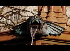 Diamond Geezer (Bricheno) Tags: manchester fountain gargoyle bricheno albertsquare jubilee queenvictoria thomasworthington england gb uk unitedkingdom greatbritain
