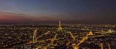 Paris, view from Montparnasse tower (www.lorenzosgalippa.com) Tags: sunset paris france tramonto cityscape tour eiffel dome montparnasse francia parigi