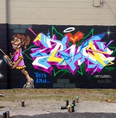 Bio (tatscruinc) Tags: graffiti bio tatscru themuralkings