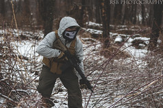 Gun range (Ryan S Burkett | RSB Photography) Tags: winter snow weather mantis pig spring nikon gun dof ar mask rifle plate troy bandana northface handgun range defense carrier m4 oakley ar15 sloppy browning firearms santan semiauto shemagh fortis skd ambidextrous faxon sigsauer magpul d300s rsbphotography arak21 alphatouch santantactical mantisdefense