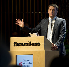 Renzi in visita a Milano