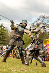 [2014-04-19@15.12.12a] (Untempered Photography) Tags: history costume fight helmet battle medieval weapon sword knight shield combat armour reenactment champions skirmish combatant chainmail canonef50mmf14 perioddress buckler platearmour gambeson mailarmour untemperedeye canoneos5dmkiii untemperedeyephotography glastonburymedievalfayre2014