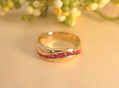 マーキス・カットのルビー Marquis cut Ruby Ring (jewelrycraft.kokura) Tags: ring ruby 指輪 marquess marquis リフォーム 18k yellowgold リング k18 ルビー イエローゴールド マーキス・カット マーキス