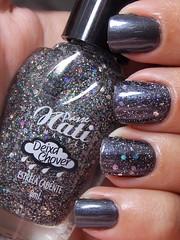 Nathália - X da Cor + Estrela Cadente - Passe Nati (Natalia Breda) Tags: glitter chumbo passenati esmaltenacional xdacor