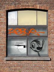 urbex / street art Ghent - Bue the warrior (_Kriebel_) Tags: street urban art graffiti belgium belgique ghent gent gand urbain kriebel belgin uploadedviaflickrqcom