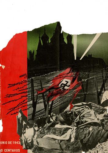 Portada de Josep Renau Berenguer para la Revista Futuro (junio de 1943)