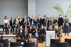 IMG_5475 (Aneta Urbon) Tags: school people students high model european shot group parliament indoor indoors politicians inside lithuania lithuanian mep meplt mepsiauliai