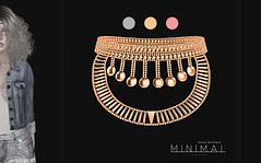 MINIMAL - Kiena Necklace (MINIMAL Store) Tags: necklace shiny minimal shabby kiena