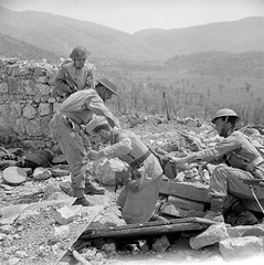 Soldiers of the 6th 'Children of Lww' Armoured Regiment (2nd Warsaw Armoured Brigade, 2nd Polish Corps) pulling another German sniper out of the ruined bunker at Piedimonte San Germano, 25th May 1944. More info in comments. [797x800] #HistoryPorn #histor (Histolines) Tags: history out children san may polish retro 2nd more bunker german corps sniper warsaw timeline soldiers info another 25th pulling comments 6th 1944 brigade ruined regiment germano armoured lww vinatage piedimonte historyporn histolines 797x800 httpifttt1tapdjs