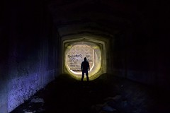 Exploring abandoned Sewers... (JAZ-art) Tags: urban underground exploring australia explore wormhole sewer urbex melburn