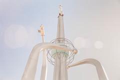 "Grown ups men' s ""kids toys"" (Demipoulpe) Tags: monument asia space central soviet cosmonaut gagarin urss soyuz baikonour rpscosmos"
