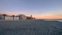 - un'alba che  quasi un tramonto (aesse_1987) Tags: sea sky canon sand mare alba liguria explore lungomare spiaggia 6d solitudine 17mm savona albenga eos6d visitliguria visitalbenga