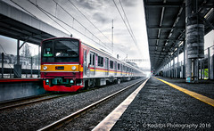 Rawa Buntu - HDR Photography (kodit0s) Tags: railroad indonesia track hdr serpong rawabuntu
