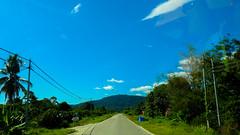 DSCN0804 (vhenryz) Tags: road park trip trees sky cloud nature water clouds forest river reserve national jungle brunei ulu temburong