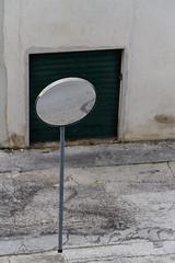 """specchio delle mie brame, qual' l'asfalto pi bello del reame?  #morrodalba #italy #clod #giornatedifotografia #sensi #enricoprada #canon #specchio #mirror #minimal (claudio """"clod"""" giuliani) Tags: italy canon clod sensi morrodalba giornatedifotografia"""