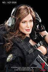 VERYCOOL TOYS VCF-2029 Black Female Shooter - 02 (Lord Dragon ) Tags: hot female toys actionfigure doll angelinajolie verycool onesixthscale 16scale 12inscale