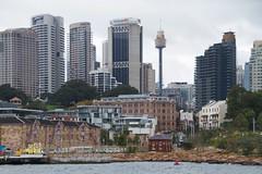 CBD skyline (Val in Sydney) Tags: tower skyline harbour sydney australia nsw cud australie