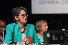 morning plenary May 20 Sally Dyck gc2016 (United Methodist News Service) Tags: budget methodist plenary generalconference gc2016