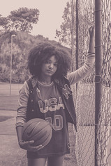 Afrogirls (George A Sistonen) Tags: black nature girl fashion basketball glasses afro style nike jordan jacket lakers duncan swag blackpower oculos cavaliers pipen naturallights