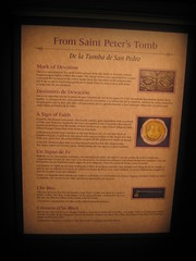 From Saint Peter's Tomb. (goldiesguy) Tags: vatican statue museum painting artwork statues manuscript ronaldreaganlibrary vaticansplendors goldiesguy