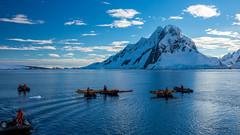 Kayak Launch @ Penola Strait (Booth Island, Wilhelm Archipelago), Antarctica (x_tan) Tags: kayak antarctica kayaking aq penolastrait canonef28300mmf3556lisusm wilhelmarchipelago canoneos5dmarkiii canongpsreceivergpe2 penolastraitboothisland