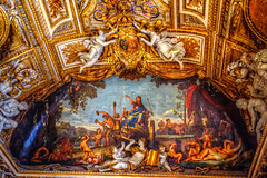 Louvre Ceiling Detail (gr8fulted54) Tags: paris nikon hdr on1 photomatix noiseless tonemapped d7100