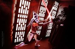 Ahsoka Tano VS Darth Vader - Star Wars Rebels - Raduno Legioni STAR WARS - 7 Maggio 2016 Montecatini Terme (Alessandro_Morandi) Tags: star 7 darth vs wars vader maggio rebels terme tano montecatini 2016 raduno ahsoka legioni