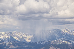 Rain storm many miles away (herecomesanothersongaboutmexico) Tags: snow rain clouds austria resort zellamsee skilodge highaltitude kaprun austrianalps europetrip2016