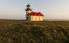 Kindness is in our power, even when fondness is not... (ferpectshotz) Tags: california lighthouse grass northerncalifornia architecture pacificcoast fresnellens mendocinocoast pointcabrillo lighthouseatsunset