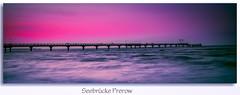 Schatten (1 von 1) (ralfm.klotz) Tags: sunset beach strand germany deutschland pier sonnenuntergang balticsea ostsee prerow fischland seebrcke dars