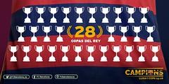 Copa del Rey: 28 ttulos para el FC Barcelona (footbamanagerallstar) Tags: soccer final stats bara fcbarcelona copadelrey ftbol sevillafc estadisiticas