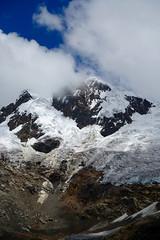 Nevado Paccharaju (*Andrea B) Tags: lake peru honda hiking walk january hike glacier blanca valley laguna cordillera huaraz quebrada quebradahonda 2016 cordillerablanca january2016 peruandesguide quebradaruripaccha ruripaccha lagunapaccharuri paccharuri
