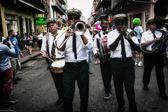 Bourbon Street (michael.mu) Tags: leica 35mm louisiana neworleans streetphotography frenchquarter bourbonstreet brassband m240 storyvillestompers colorefexpro secondlineparade leicasummicron35mmf20asph leicasummicronm1235mmasph