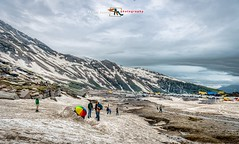 AtHighAltitude (RajeshMannanPhotography) Tags: india mountain snow clouds hill pass manali rohtang